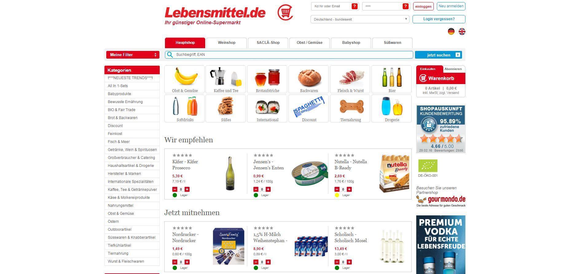 lebensmittel online kaufen online superm rkte im praxis