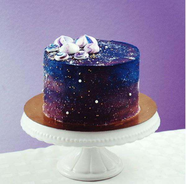 Galaxy Mirror Cake Recipe