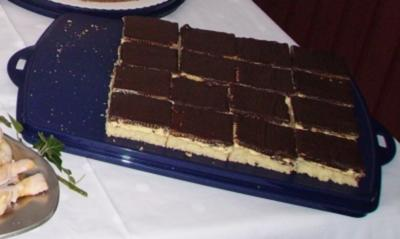 Puddingkuchen mit Biskuit: und Eier - Rezept mit Bild ...