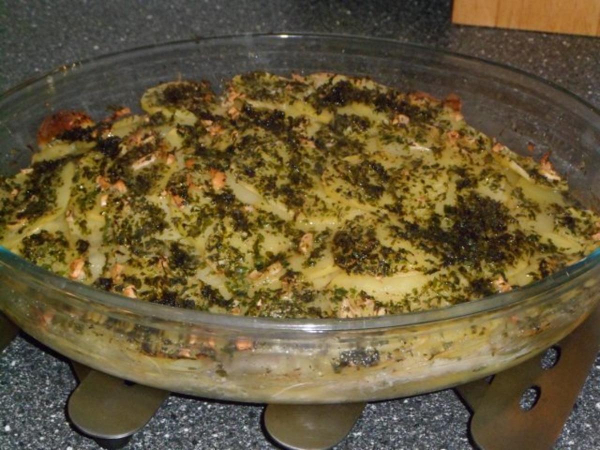 FISCH  Fisch und Kartoffeln aus dem Backofen  Rezept  ~ Backofen Fisch