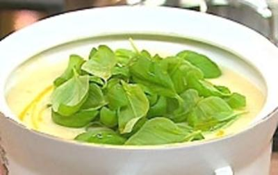 Apfel-Sellerie-Suppe - Rezept
