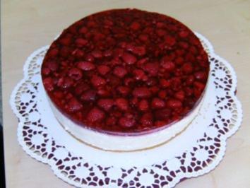 Torte himbeeren joghurt