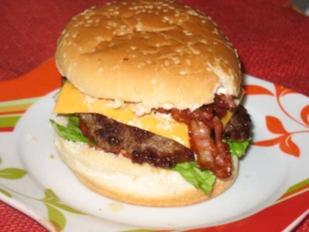 all american cheeseburger - Rezept mit Bild - kochbar.de