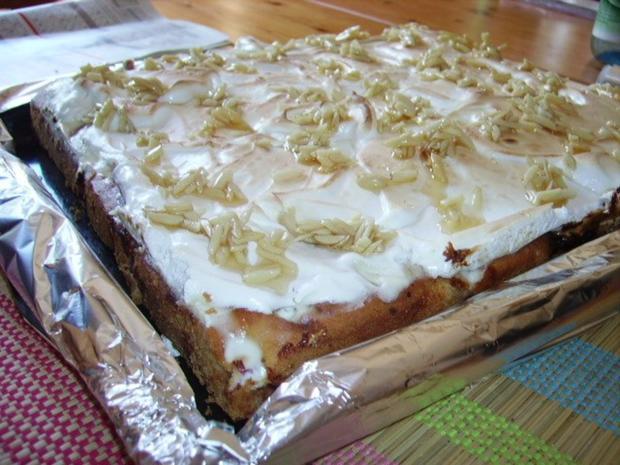 Stachelbeer baiser kuchen ruhrteig