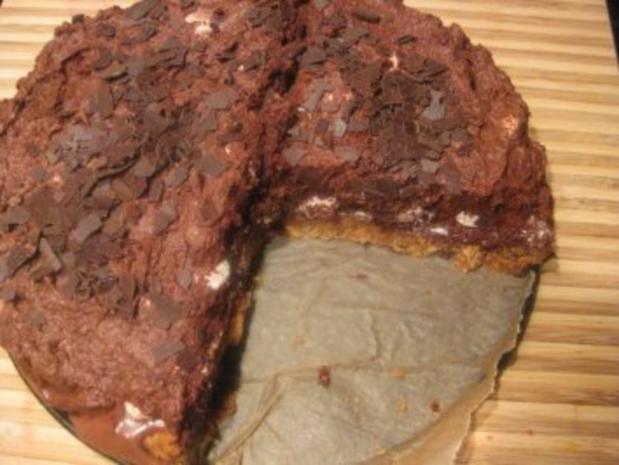 mousse au chocolat torte knusprig knackig rezept. Black Bedroom Furniture Sets. Home Design Ideas