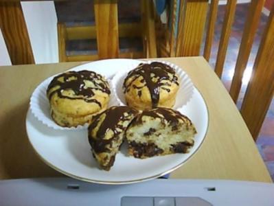 47 schoko bananen muffins rezepte. Black Bedroom Furniture Sets. Home Design Ideas