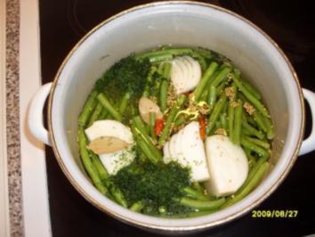 Grüne bohnen süsssauer einkochen