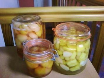 Wie kocht man pfirsiche ein