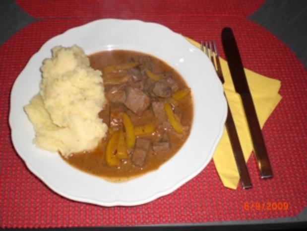 Lebergulasch Rezept