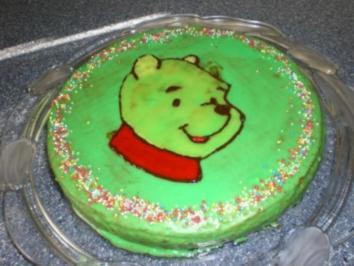 2 winni pooh rezepte for Winnie pooh kuchen deko