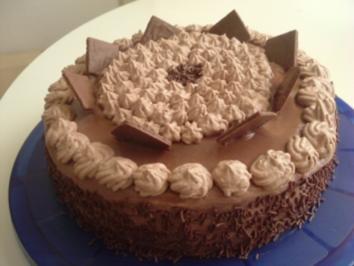 Schoko sahne torte 3 stockig