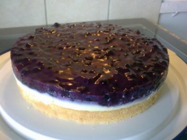 Heidelbeer vanille pudding kuchen