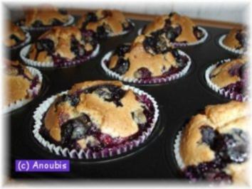 heidelbeer muffins mit gefrorenen heidelbeeren rezepte. Black Bedroom Furniture Sets. Home Design Ideas