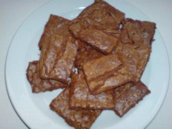 Karamell-Brownies - Rezept