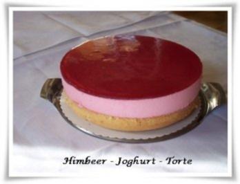 Joghurt torte mit himbeeren rezepte