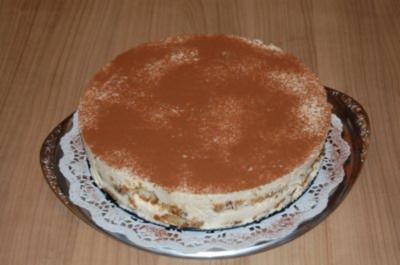 Rezept schnelle tiramisu torte ohne backen