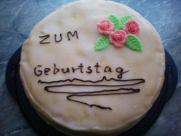 Marzipan torte geburtstag