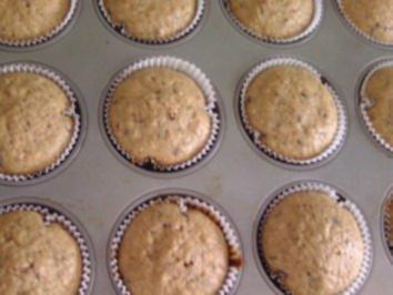 Kuchen mit haferflocken und schokolade