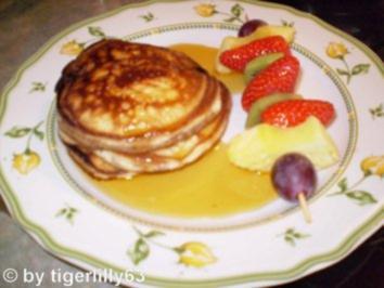 pancakes schmecken fluffig und s einfach k stlich rezept mit bild. Black Bedroom Furniture Sets. Home Design Ideas