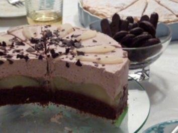 8 birnen schokoladen torte rezepte. Black Bedroom Furniture Sets. Home Design Ideas