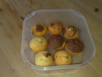 muffins marmor nutella muffins rezept. Black Bedroom Furniture Sets. Home Design Ideas