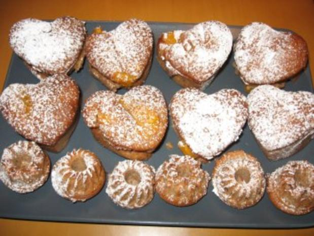 mandarinen joghurt herz muffins ohne ei rezept. Black Bedroom Furniture Sets. Home Design Ideas