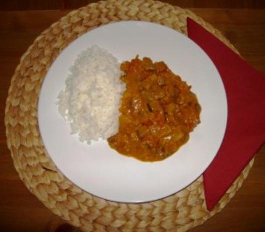 Cape Malay Curry - Rezept