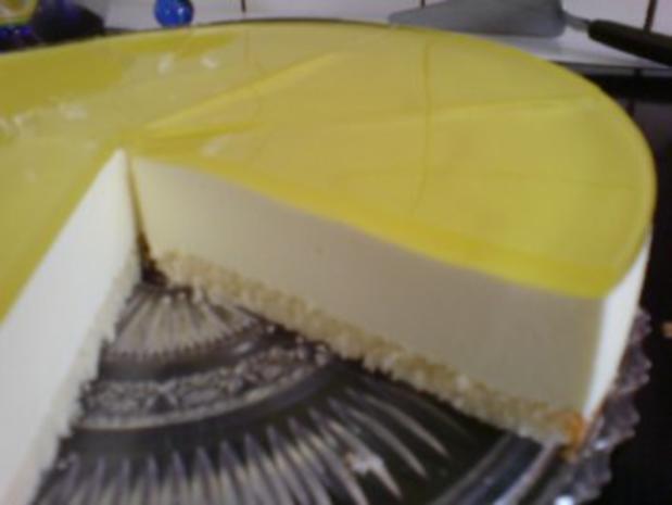 Torte zitronen sahne