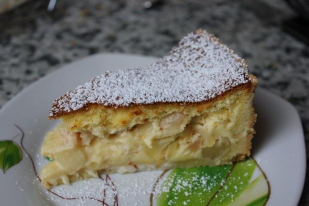 Apfel schmand kuchen ohne pudding
