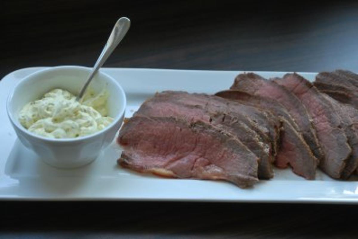 roastbeef schmeckt kalt und warm rezept mit bild. Black Bedroom Furniture Sets. Home Design Ideas