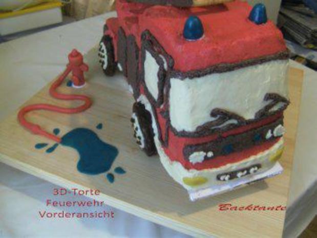 TORTE - 3D-Torte - Feuerwehr - Rezept mit Bild - kochbar.de