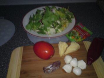 salat auf die schnelle rezept mit bild. Black Bedroom Furniture Sets. Home Design Ideas