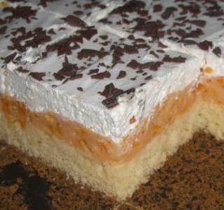 Kuchen aus buttermilch