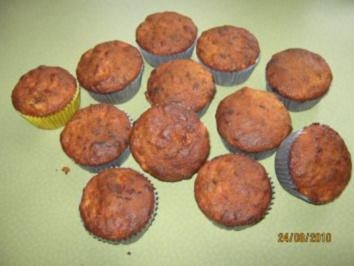 schoko bananen muffins rezept mit bild. Black Bedroom Furniture Sets. Home Design Ideas