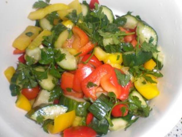 wei e bohnen salat mit getrockneten tomaten rezept. Black Bedroom Furniture Sets. Home Design Ideas