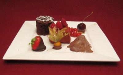 dessert kochen mit dreierlei dessert k che 61 rezepte. Black Bedroom Furniture Sets. Home Design Ideas