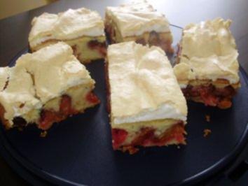 Schneller kuchen mit pflaumenmus