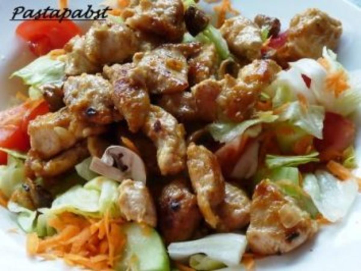 Bunter salat rezept mit bild kochbarde for Bunter kühlschrank