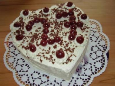 Kuchen in herzform ohne herzform