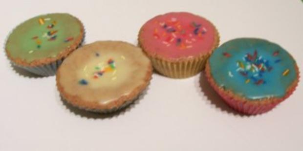 lustige muffins backen