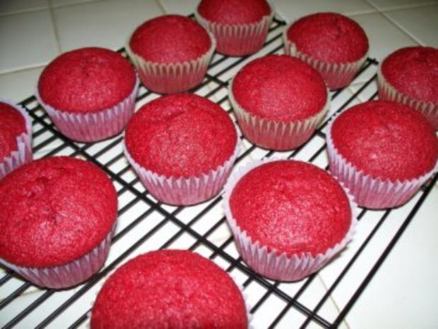 red velvet cupcakes rezept mit bild. Black Bedroom Furniture Sets. Home Design Ideas