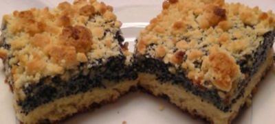 Kuchen mit bittermandel