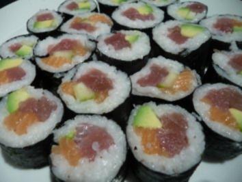 sushi mit frischk se rezepte. Black Bedroom Furniture Sets. Home Design Ideas