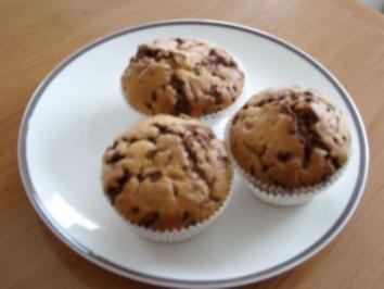 muffins mit joghurt und schokolade rezepte. Black Bedroom Furniture Sets. Home Design Ideas