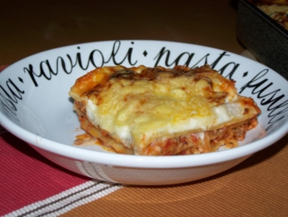 schnelle lasagne rezept mit bild kochbar de