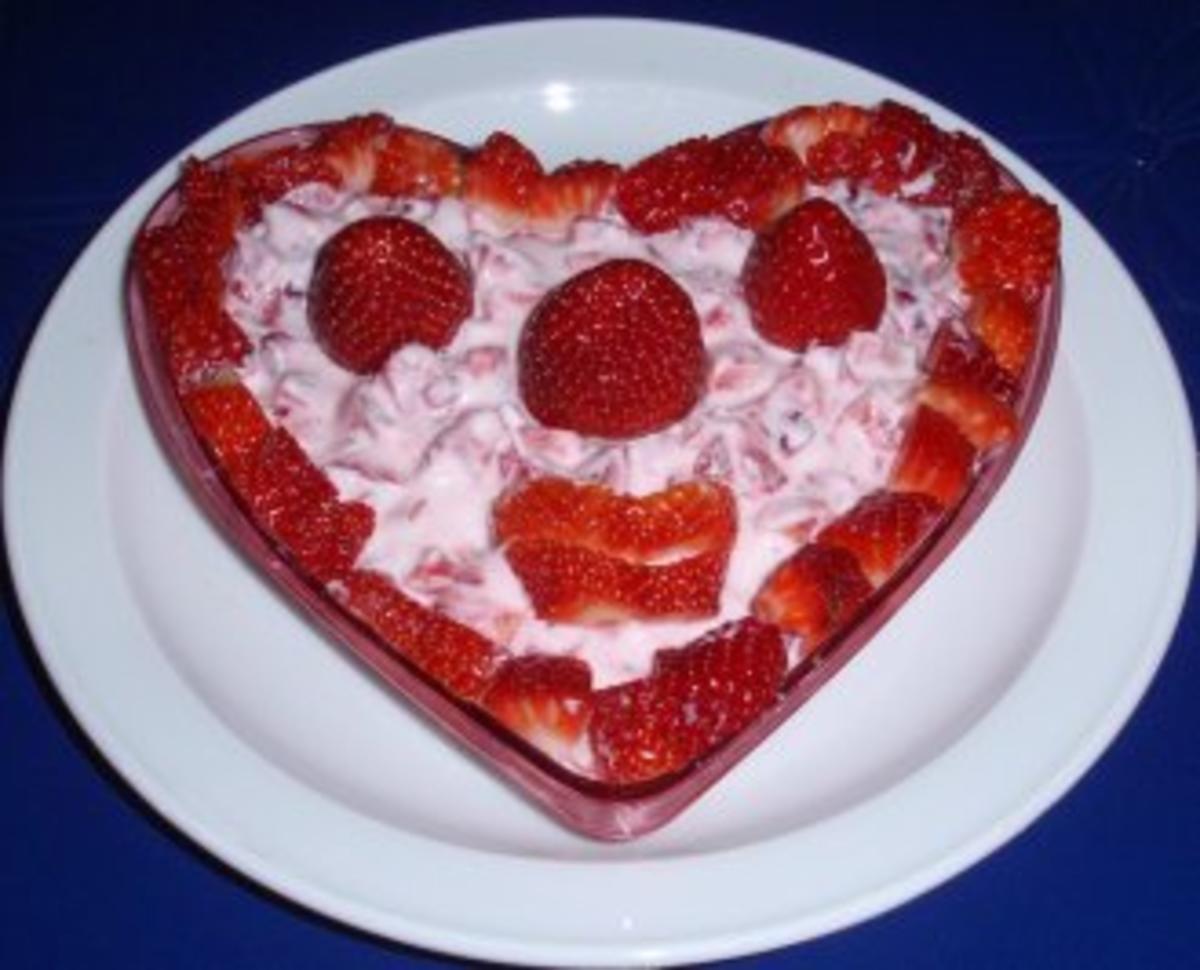 smiley dessert erdbeeren mit quark rezept. Black Bedroom Furniture Sets. Home Design Ideas