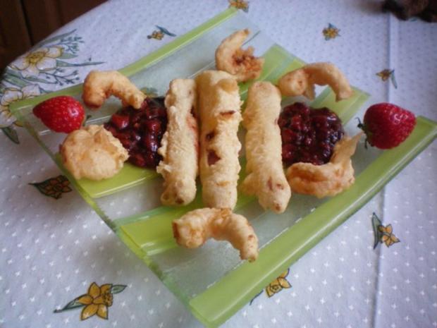 spargel im tempuramantel mit garnelen an erdbeer balsamico chutney rezept. Black Bedroom Furniture Sets. Home Design Ideas
