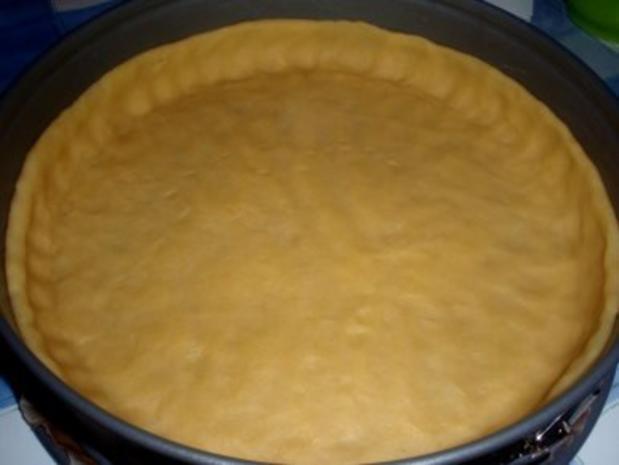 Rhabarber mandel quark torte