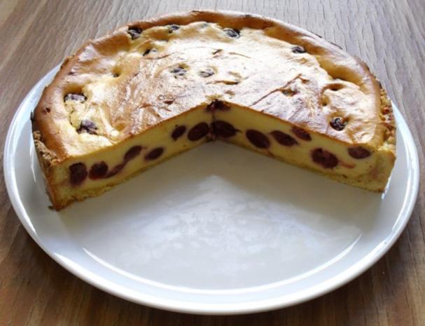 Quark kirsch kuchen rezept mit bild for Kuchen zusammenstellen programm