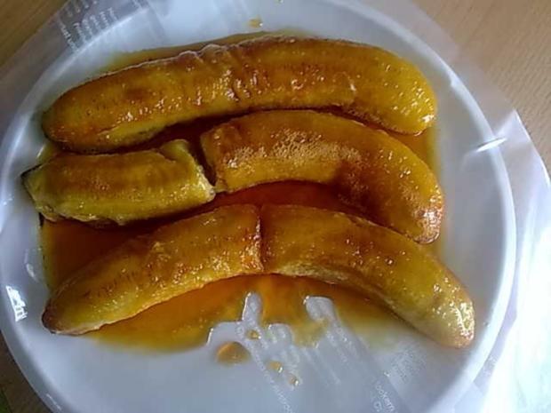 Dessert: Karamelisierte Banane - Rezept - kochbar.de